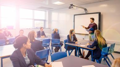 كيف نعد البيئة التعليمية باستخدام تقنيات التعلم الناشط