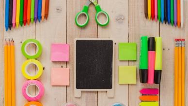 المواد اللازمة في ورشات التعلم السريع