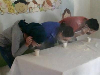 """"""" أنا أتحدى الضغوطات """" دورة تدريبية لمجموعة الهلال الأحمر السوري مع المدرب محمد زياد الوتار"""
