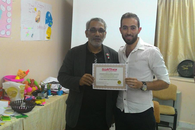 إدارة الموارد البشرية للمرة الثانية في السويداء مع المدرب الاستشاري د.محمد عزام القاسم