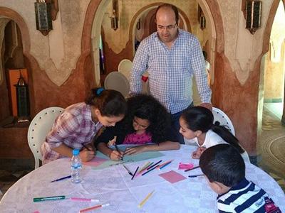 مهارات الحياة الوجدانية، ورشة تدريبية لفائدة الأطفال للمدرب أول عادل عبادي