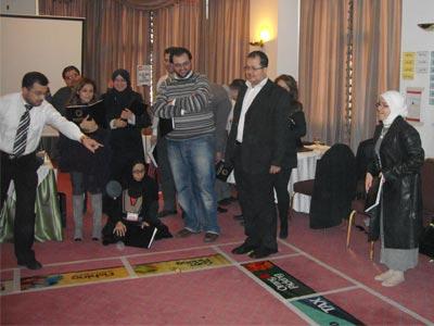 توجهيات وملاحظات من المدرب د. محمد بدرة على سير العمل في اللعبة.