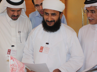 المدرب أحمد الدغيشي من سلطنة عمان.