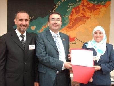 المغرب - الجديدة 2008:  صور من دورة الممارس التي قدمها المدرب الخطيب في المغرب