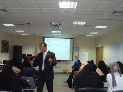 قطر - الدوحة 2011: دورة إدارة العمر لبرنامج استقطاب المهن الطبية لأول مرة في مؤسسة حمد الطبية