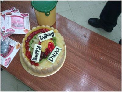 ببادرة متميزة قام المتدربون بالاحتفال بعيد ميلاد المتدربة دعاء .....