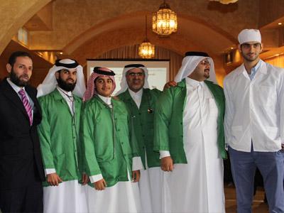 صورة لمجموعة من المتدربين.