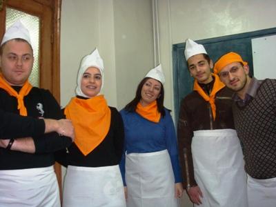 الشيف مهند قائد مقدمي الطعام
