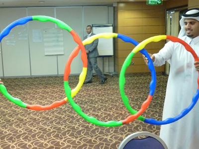 قطر- الدوحة 2012: إختتام دورة فن التحدّث أمام الجمهور للمدرب حمزة الدوسري
