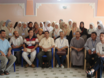 A group photo of the trainees and the trainer