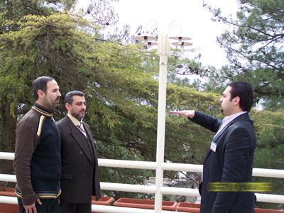 Trainees doing exercises - Trainee Ali  hlehel (right) - Trainee Mustafa  Al-Aaraj (front left) - Trainee Yosef  I.Humady (back left)