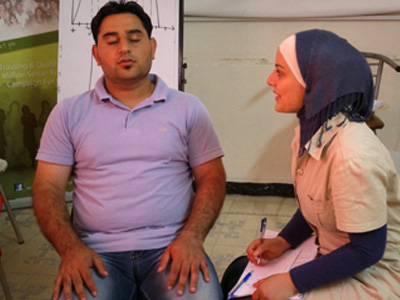 سوريا -   دمشق 2013: مساعد ممارس في البرمجة اللغوية العصبية