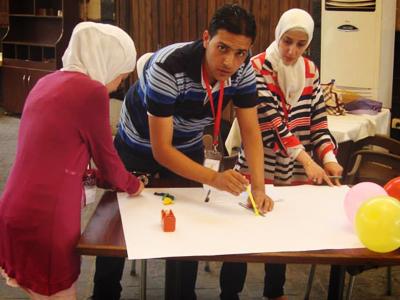 تحضيرات وأفكار متنوعة وعمل كمجموعات لتحضير عروض جماعية.