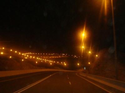الطريق لقمة جبل حفيت كمدرج الطائرات