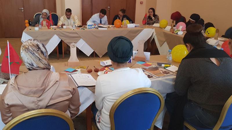 حفل ختام دورة مساعد ممارس وتوزيع الشهادات