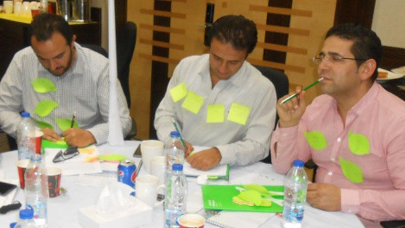 تبادل القيم والأفكار و وجهات النظر