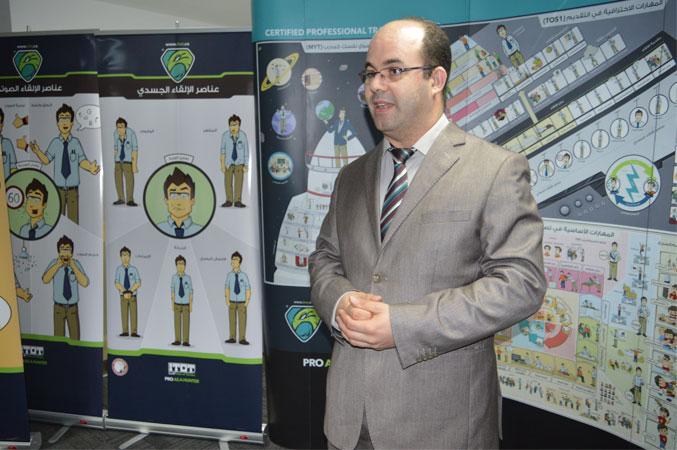 مدربوا دورة دبلوم مدرب محترف المقدمة في مبنى جائزة الشيخ حمدان بن راشد آل