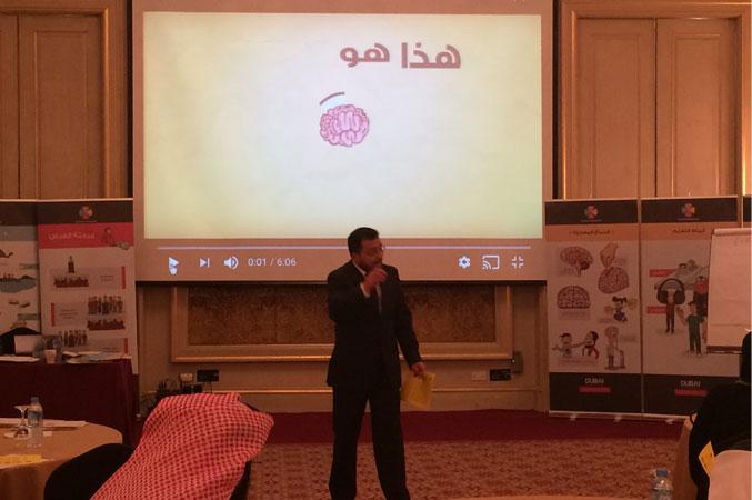 شرح الدكتور محمد بدرة في بداية دورة ممارس تعلم سريع