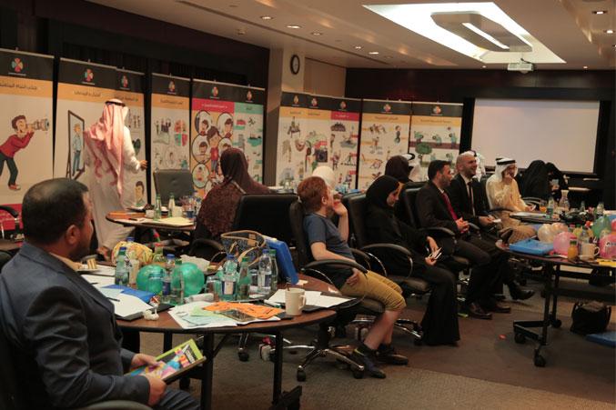 الدكتور محمد أثناء تنفيذ التمرينات والإشراف المباشر