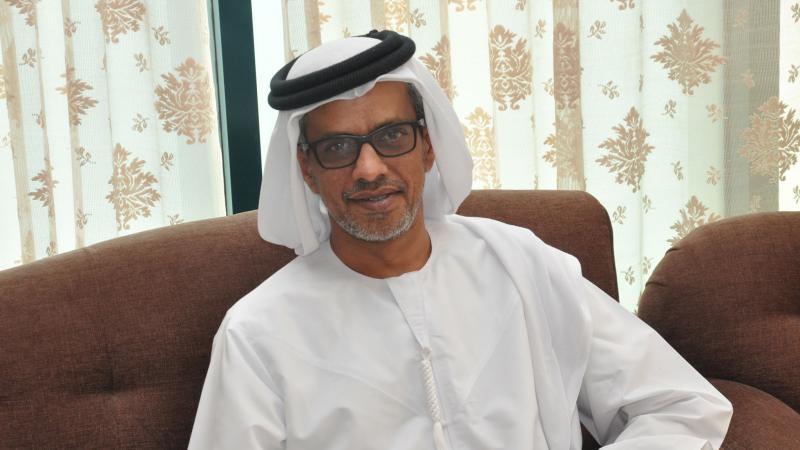 السيد عبد العزيز العلي حاضرا في حفل الختام