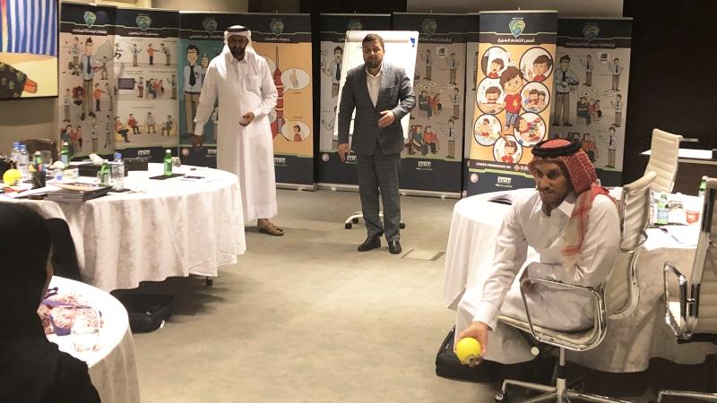 إيلاف ترين الدوحة تختتم دورة مدرب محترف معتمد CPT