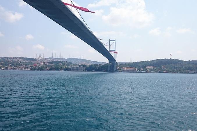 صورة لجسر البوسفور