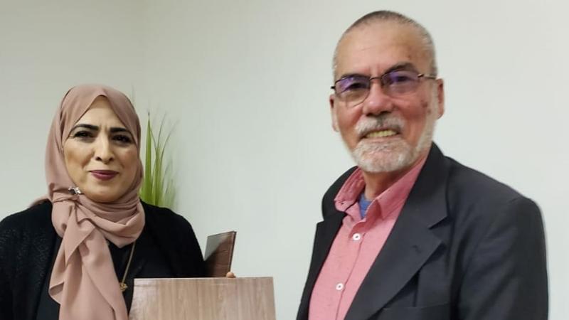 اختتام دورة تطوير المهارات القيادية مع المدربة سهى أبو رومي