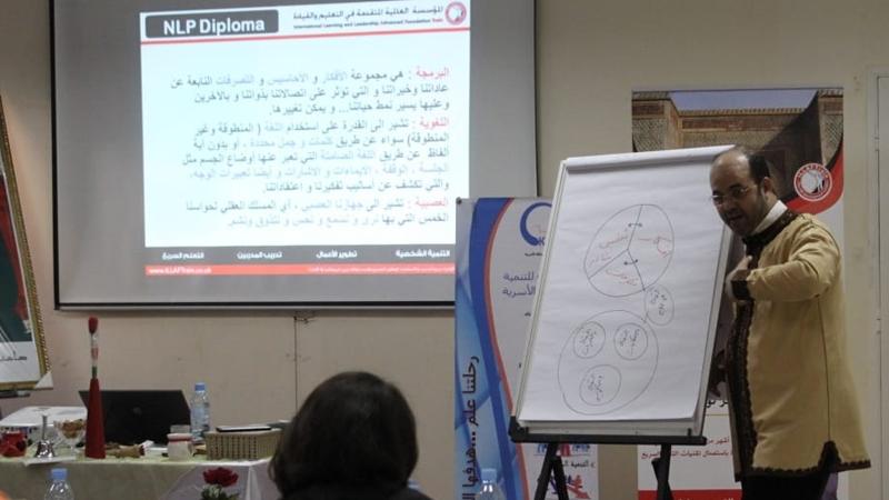 دورة البرمجة اللغوية العصبية للمدرب عادل عبادي
