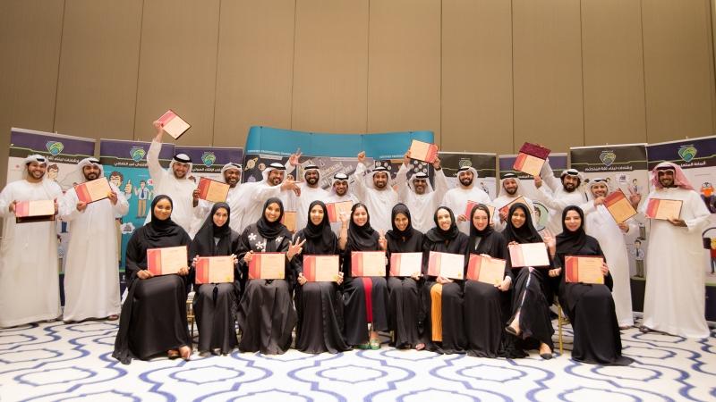 صورة جماعية وفرحة في تحقيق الإنجاز وبلوغ الهدف