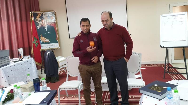 المدرب أول عادل عبادي يختتم دورة دبلوم البرمجة اللغوية العصبية في مكناس