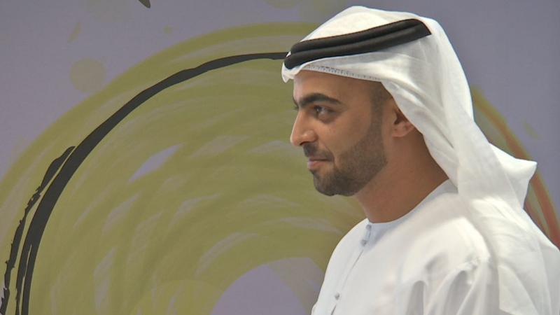 صورة أحد المتدربين في البرنامج