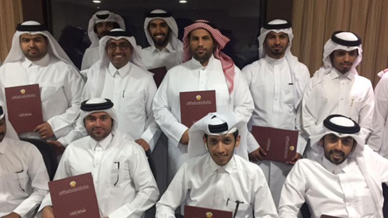 مهارات العمل الجماعي في معهد الإدارة العامة مع المدرب حمد الشمري