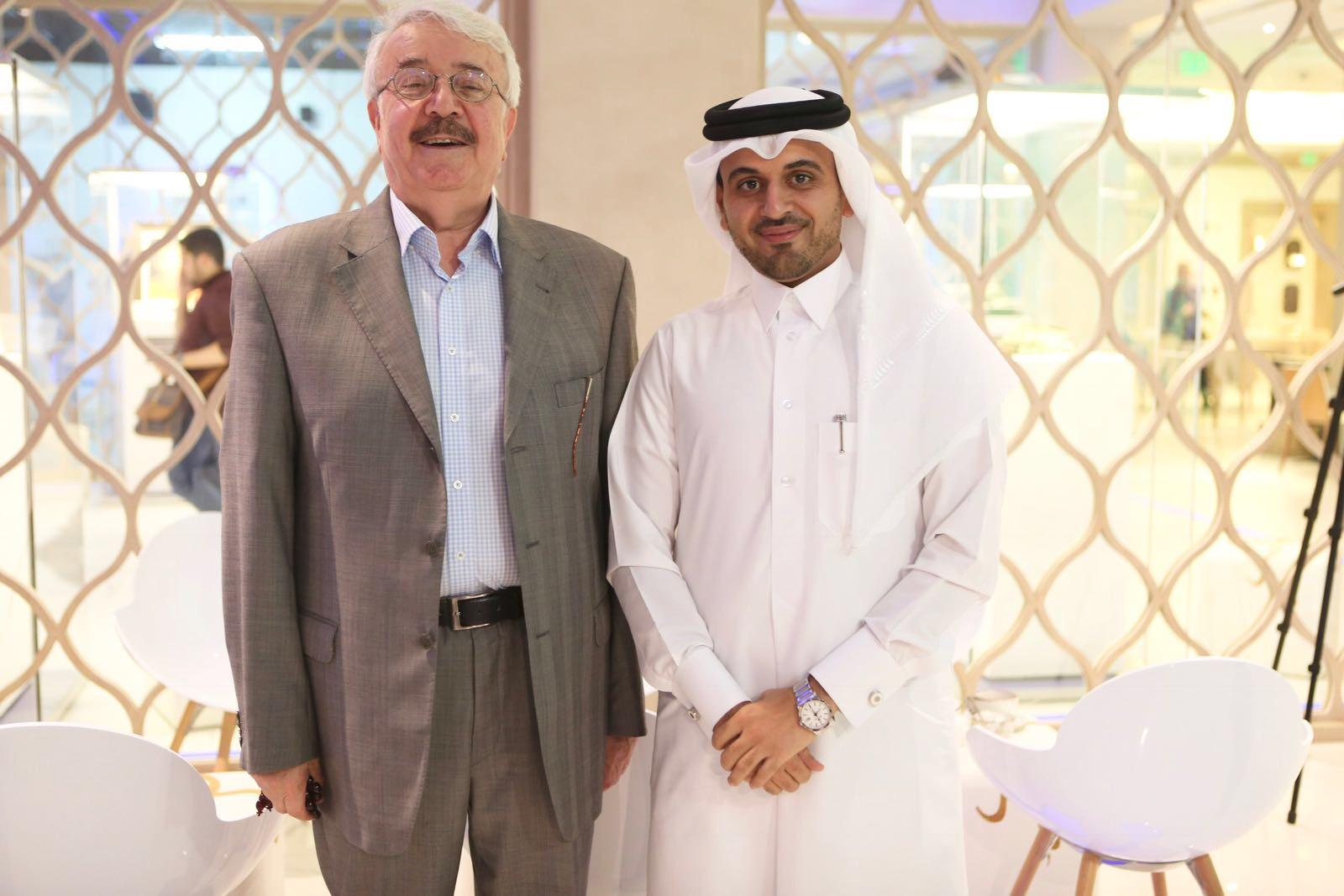 صورة المدرب احمد المالكي مع الدكتور ناجي صبري
