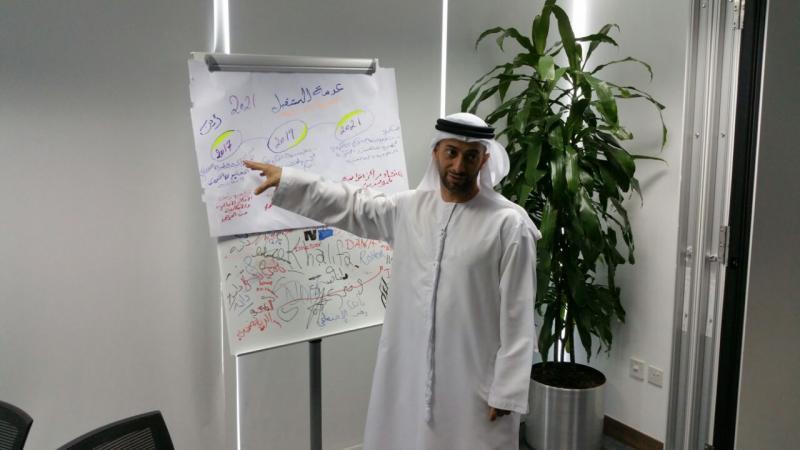 التميز في الأداء والتفكير الإبداعي دورة لفائدة مسؤولي جائزة حمدان بن راشد