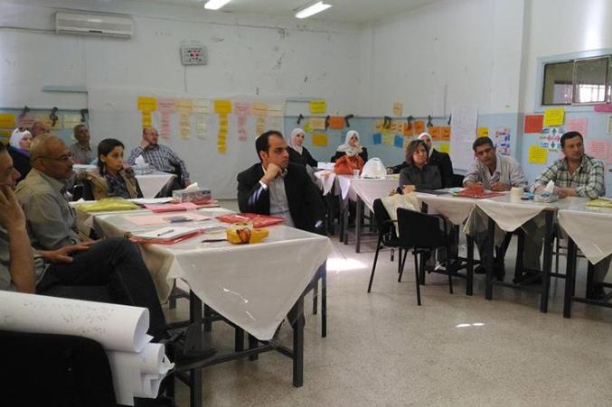 دورة متميّزة للمدرب الاستشاري محمد عزام القاسم مع نخبة من مدرسي وزارة الترب