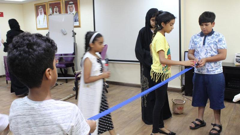 تنفيذ الأطفال للانشطة والتمرينات