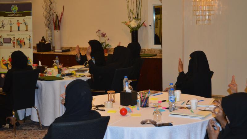 تمرينات وأنشطة نفذها المتدربون خلال البرنامج