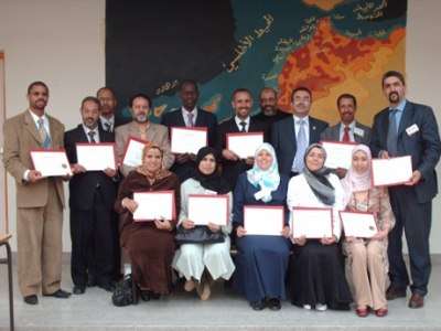 Morocco - Aljadeida: on the Atlantic shores, a course of NLP was presented by trainer Alkhateeb