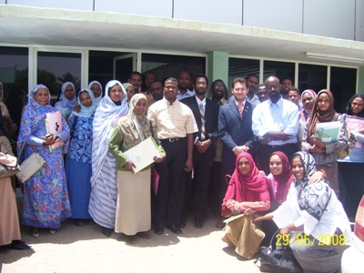 Khartoum, Sudan: Trainer Tony Peter and a Unique NLP Course Co-facilitated by Trainer Magdah Mohammad