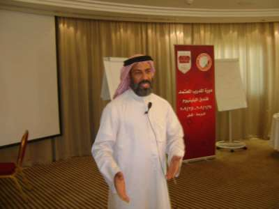 Qatar- Doha:  ILLAFTrain Certified Trainer Course continues at Millennium Hotel with Dr. Mohammed al-Toayny