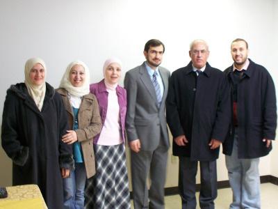 الولايات المتحدة الأمريكية - انديانا: اختتام دورة في حفط القرآن الكريم للمدربة عزة بدرة في مدينة كروان بوينت