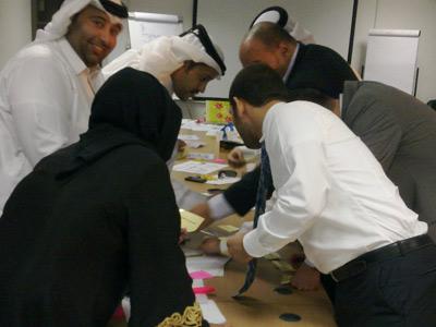 قطر - الدوحة: إختتام دورة مهارات العرض والتقديم للمدرب هشام زكي