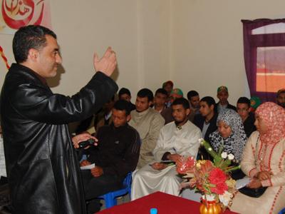 المغرب - تمسية: إختتام دبلوم التأهيل القيادي للمدرب عبد الله ادالكاهية