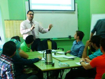 """سوريا - حماة:  اختتام دورة """"الدعم النفسي الإجتماعي"""" للمدرب د.محمد إياد الزعيم"""