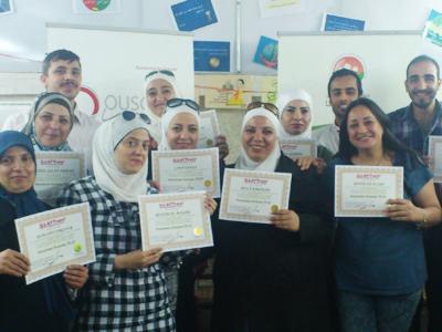 """سوريا - دمشق: اختتام دورة """"مساعد ممارس في البرمجة اللغوية العصبية"""" للمدرب أحمد خير السعدي"""