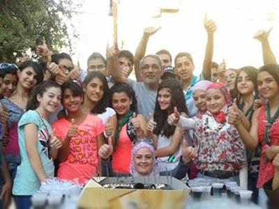 """سوريا - دمشق: اختتام دورة  """"مهارات التواصل لليافعين"""" مع المدرب الخبير محمد عزام القاسم"""