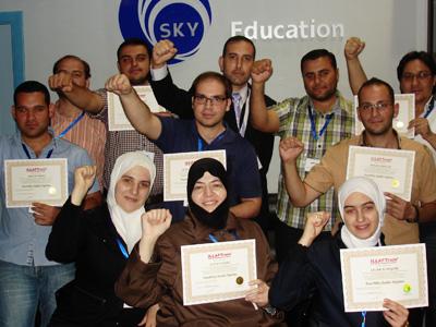 سوريا - دمشق: ثمانية نجوم تألقت في سماء سورية منيرة استخدام مهارات دراسات الجدوى الاقتصادية للمدرب محمد بدر كوجان