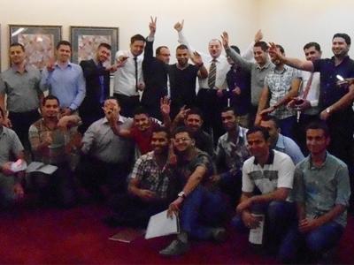 """العراق – أربيل: استكشاف الطرق المؤدية إلى """"زيادة الانتاجية الشخصية"""" مع المدرب د. سعيد قمحة"""
