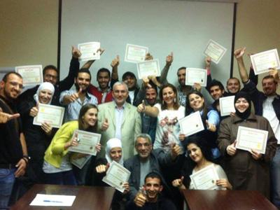"""سوريا - دمشق: اختتام دورة جديدة في """"إدارة الموارد البشرية"""" للمدربة لينا ديب"""