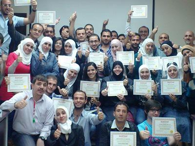 """سوريا - دمشق: اختتام دورة """"دبلوم البرمجة اللغوية العصبية"""" للمدرب الخبير أحمد خير السعدي"""